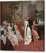 An Elegant Soiree Canvas Print