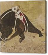 An Enraged Elephant Canvas Print
