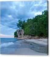 An Evening At The Chapel Canvas Print