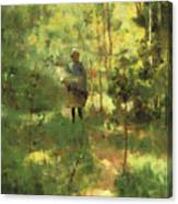 An Impression Dans La Sous Bois Canvas Print