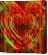 An Inimitable Heart Canvas Print