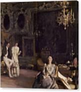 An Interior In Venice Canvas Print