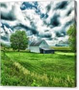 An Iowa Farm Canvas Print