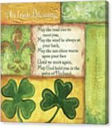 An Irish Blessing Canvas Print