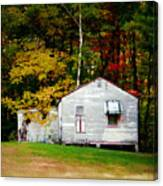 An Old Abandoned House Canvas Print