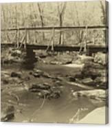 An Old Bridge Canvas Print