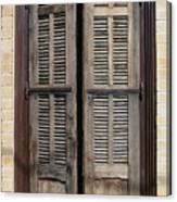 An Old Door In Neve Tzedek Tel Aviv Canvas Print