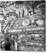 An Old Fashioned Carnival Canvas Print