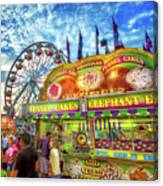 An Old Fashioned Midway Canvas Print