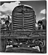 An Old International Truck Canvas Print