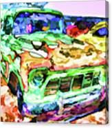 An Old Pickup Truck 1 Canvas Print