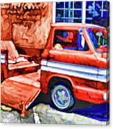 An Old Pickup Truck 2 Canvas Print