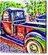 An Old Pickup Truck 3 Canvas Print
