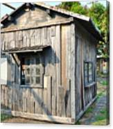 An Old Wooden Shack Canvas Print