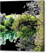 An Umpqua Night Canvas Print