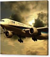 Ana Boeing 773 Ja784a Canvas Print
