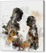 Anakin And Padme Canvas Print