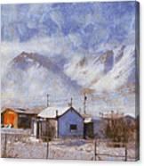 Anaktuvuk - Eskimo Village Canvas Print