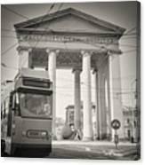 Analog Black And White Photography - Milan - Porta Ticinese Canvas Print