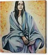 Ananda Mayi Ma Canvas Print