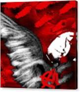 Anarchy Angel Canvas Print