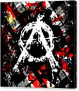 Anarchy Punk Canvas Print