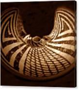 Anasazi Butterfly Pot Canvas Print