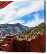 Anasazi Cliff Dwellings #21 Canvas Print
