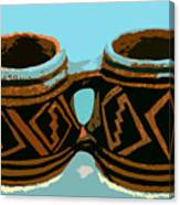 Anasazi Double Mug Canvas Print