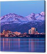 Anchorage Lights Canvas Print