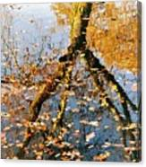 Anchorage In Autumn Canvas Print
