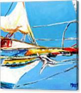 Anchored 2 Canvas Print