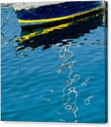 Anchored Boat II Canvas Print