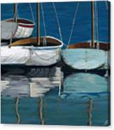 Anchored Reflections I Canvas Print