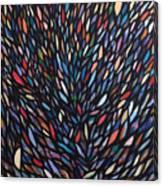 Anchovies  Abstract Fish Canvas Print