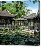 Ancient Chinese Architecture Canvas Print