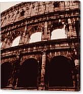 Ancient Colosseum, Rome Canvas Print