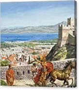 Ancient Corinth Canvas Print