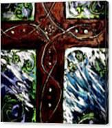 Ancient Cross Canvas Print
