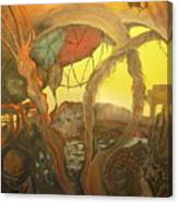 Ancient Dawn Of New Kings Canvas Print