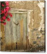 Ancient Door Canvas Print