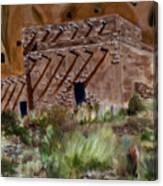 Ancient Dwelling Canvas Print