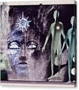 Ancient  Gods Canvas Print