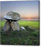 Ancient Grave Canvas Print