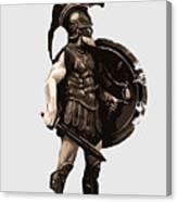 Ancient Greek Hoplite Canvas Print