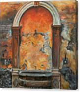 Ancient Italian Fountain Canvas Print