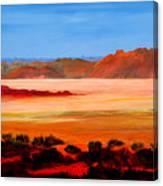Ancient Lake Canvas Print