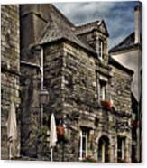 Ancient Mansion - Rochefort-en-terre - La Bretagne Canvas Print