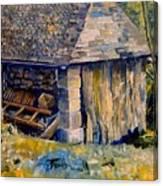 Ancient Mill Canvas Print