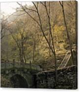 Ancient Mountain Trail Canvas Print